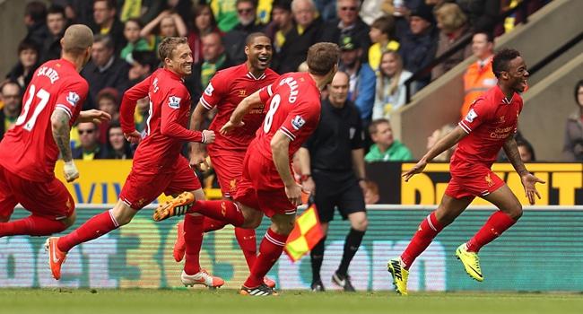 Liverpool şampiyonluğa koşuyor