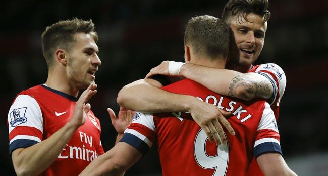 Ramsey döndü, Topçular coştu
