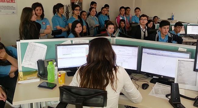 Genç ATT'ler 112 çağrı merkezinde