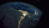 Türkiye Uzaydan Değerli Taş Gibi Görünüyor