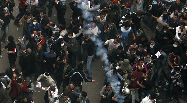 Mısırda Halk Yine Sokakta