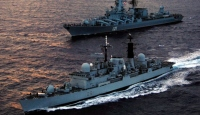 3 Rus Savaş Gemisi Akdeniz'de