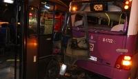 Sarıyerde trafik kazası: 8 yaralı