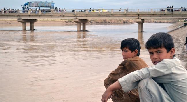 Afganistanı sel vurdu