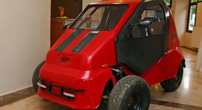 Elektrikli otomobil DEMOBİL tanıtıldı