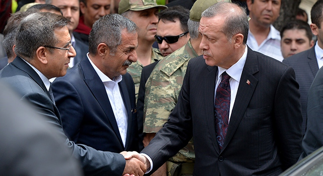 Başbakan Erdoğan Somada