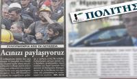 Rum gazetesinden Türkçe baþlýk