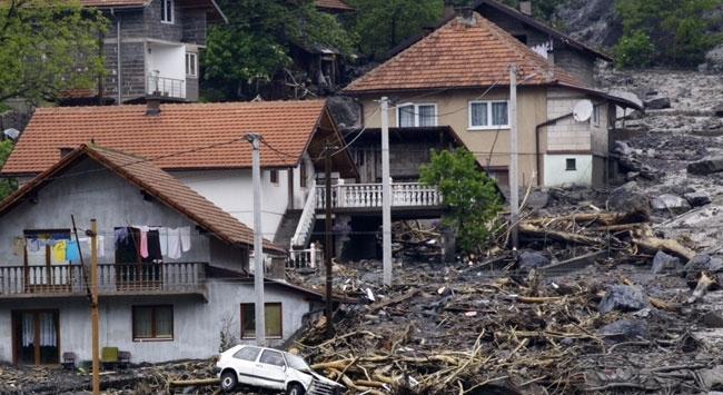 Balkanlar ve Avrupanın doğusunda sel felaketi
