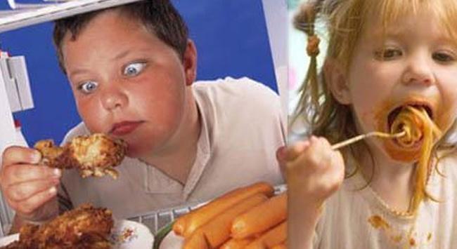 Obez çocuk sayısı günden güne artıyor