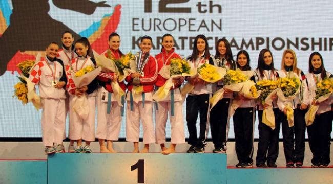 Türkiye karatede þampiyon
