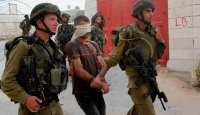 Filistinlinlileri gözaltına alıyorlar