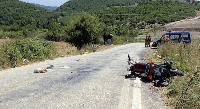 Belen Bir Gencini Motosiklet Kazasında Kaybetti.