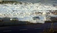 Karadeniz'de Tsunami Gibi Fırtına!