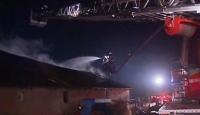 İstanbul Çatalca'da Fabrika Yangını