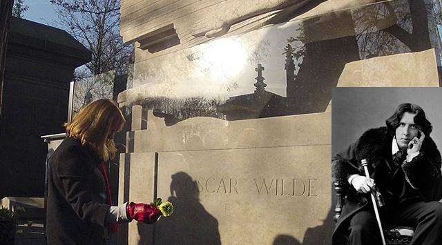 """Wildeın Mezarına """"Öpücük"""" Koruması!"""