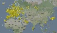 Havadaki Uçak Sürüsü