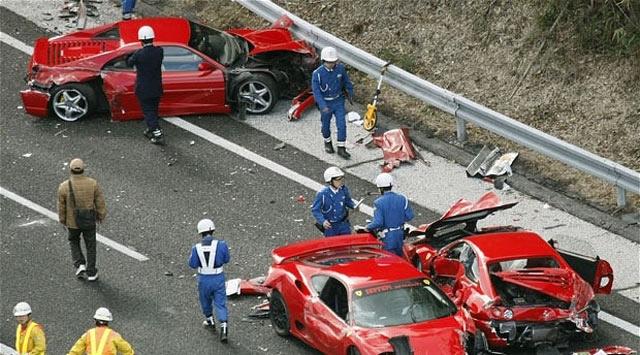 Dünyanın En Pahalı Trafik Kazası