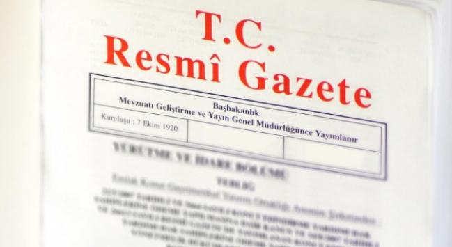Enerji ve Tabii Kaynakları Bakanlığına ilişkin karar Resmi Gazetede