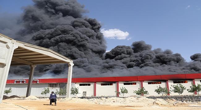 Tuzla Sanayi Sitesinde yangın