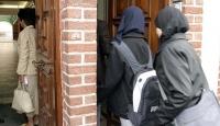 Fransada başörtülü kadına silahlı saldırı