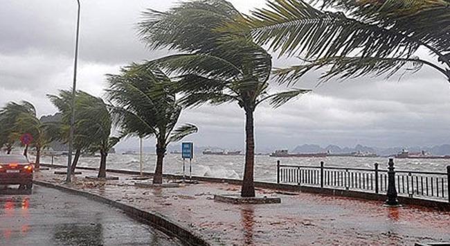 Akdenizde fırtına uyarısı