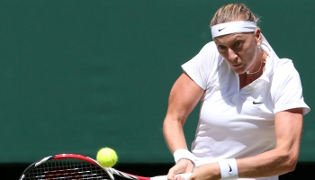 Wimbledon'da zafer Kvitova'nýn
