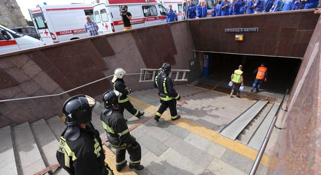 Metro kazasında ölü sayısı 20ye çıktı