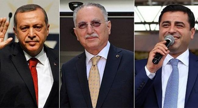 Erdoğan bağışta rakiplerine fark attı