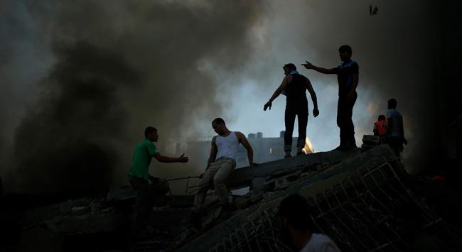 İsrailin Şucaiyye katliamı devam ediyor