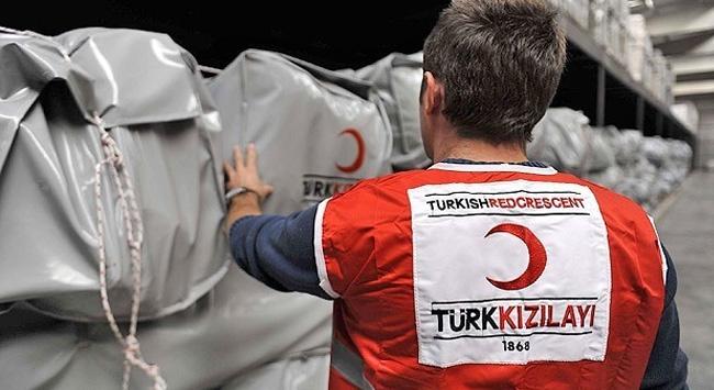 Türk Kızılayı'ndan yardımeli