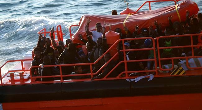 Ege Denizinde hayatını kaybeden kaçak göçmen sayısı yüzde 85 azaldı