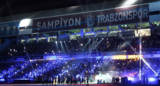 Trabzonspordan görkemli açılış