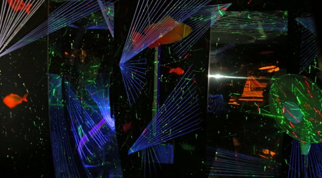 Bodrumda uzay gemisi
