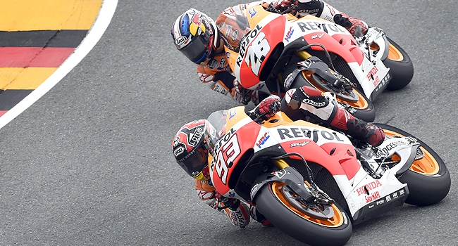 MotoGPde şampiyon Marquez