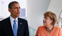 Obama-Merkel telefonda görüştü