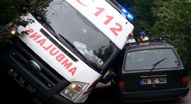 Talihsiz kaza!