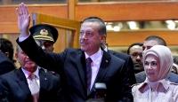 Cumhurbaşkanına İstanbulda coşkulu karşılama