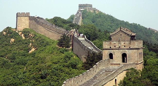 Çin Seddindeki restorasyona tepki