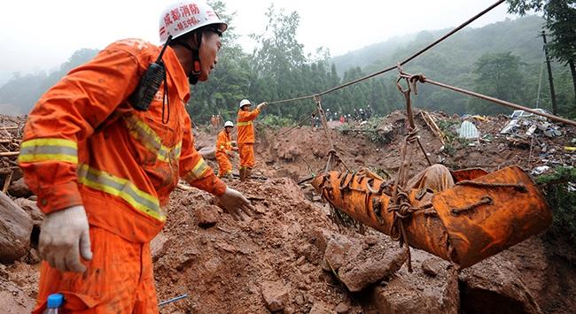 Çinde sel: 7 ölü, 4 kayıp
