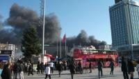 Taksim'de Yangın