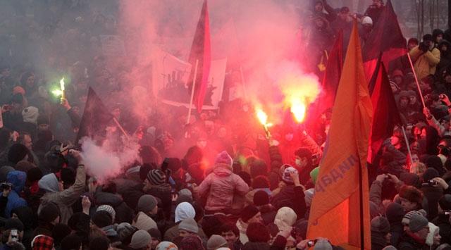 Rusyada Muhalefet Meydanlara İndi