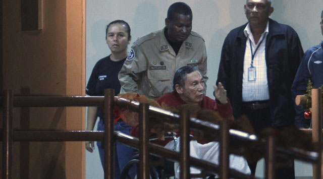 77 Yaşındaki Panama Diktatörü Cezaevinde