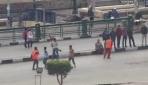 Tahrir Meydanında Bu Kez Futbol Oynadılar
