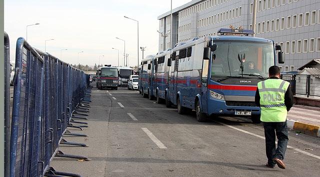 Diyarbakırdaki KCK ana davasına devam