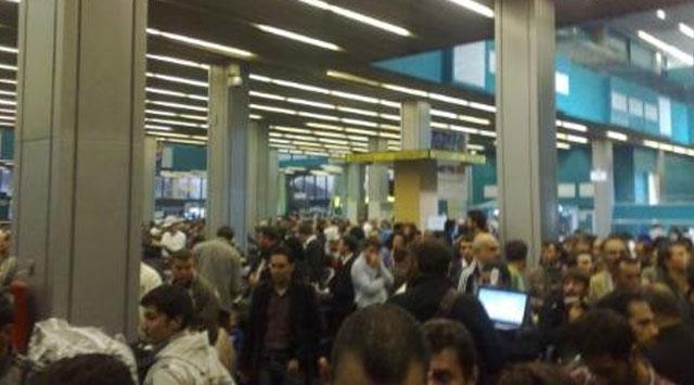 Grev Yüzünden Trablus Havaalanı Kapandı