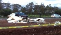 ABD'de Otoyola Uçak Düştü: 5 Ölü
