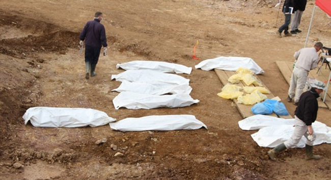 Meksikada toplu mezarlarda 59 ceset bulundu