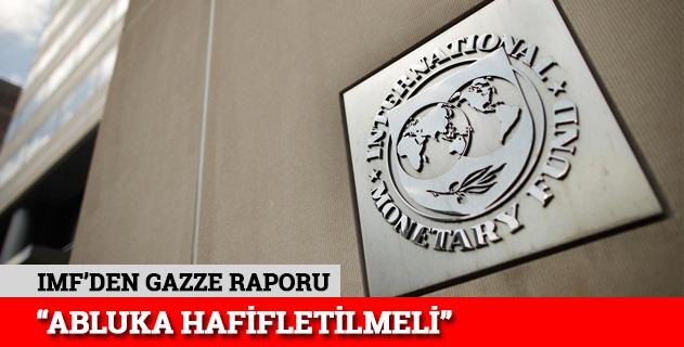 IMFden abluka açıklaması