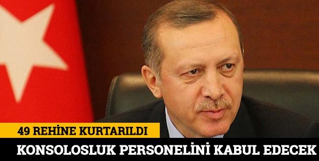 Erdoğan yarın konsolosluk personeliyle görüşecek