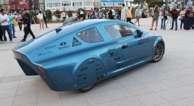 İÜnün geliştirdiği elektrikli otomobil Eskişehirde